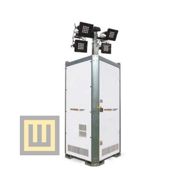 Wieża oświetleniowa GENERAC Hydro Power Box Hybrid ( PRAMAC )