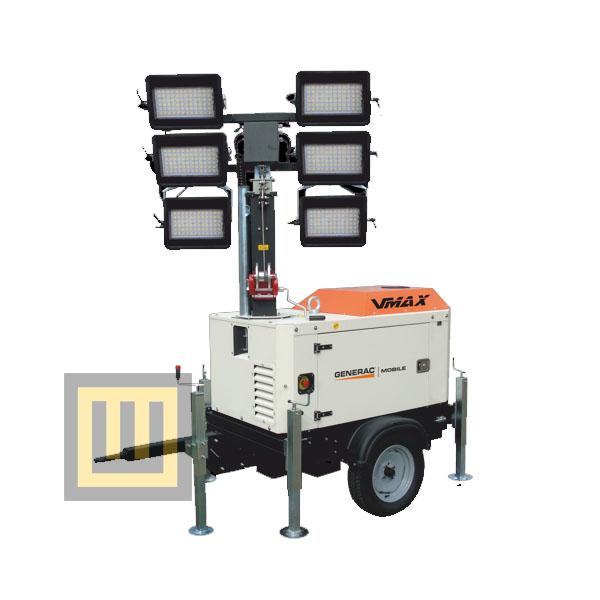 Wieża oświetleniowa GENERAC VMAX ( PRAMAC )