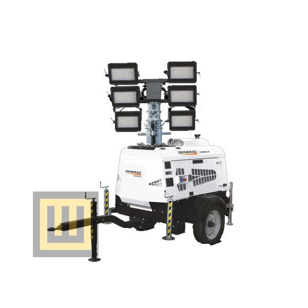 Wieża oświetleniowa GENERAC VT-MINE ( PRAMAC )