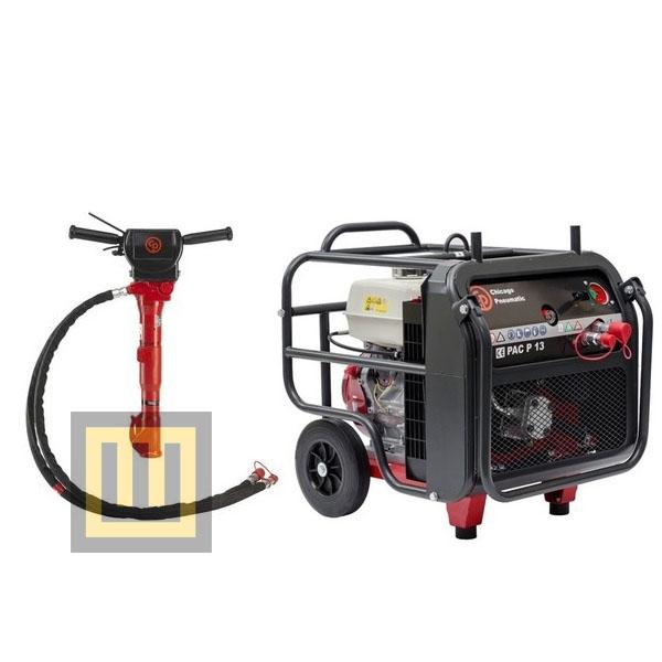 Zestaw hydrauliczny CHICAGO PNEUMATIC - Chicago Pneumatic PAC P13 + Chicago Pneumatic BRK 55 VR
